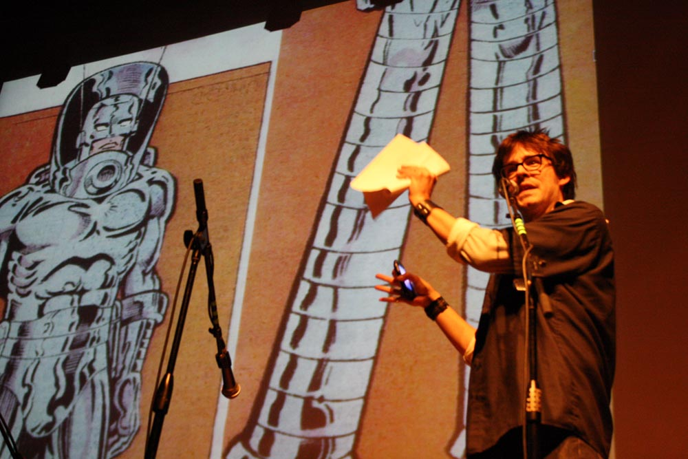 Matt Fraction explains his one-time fascination with Stilt Man