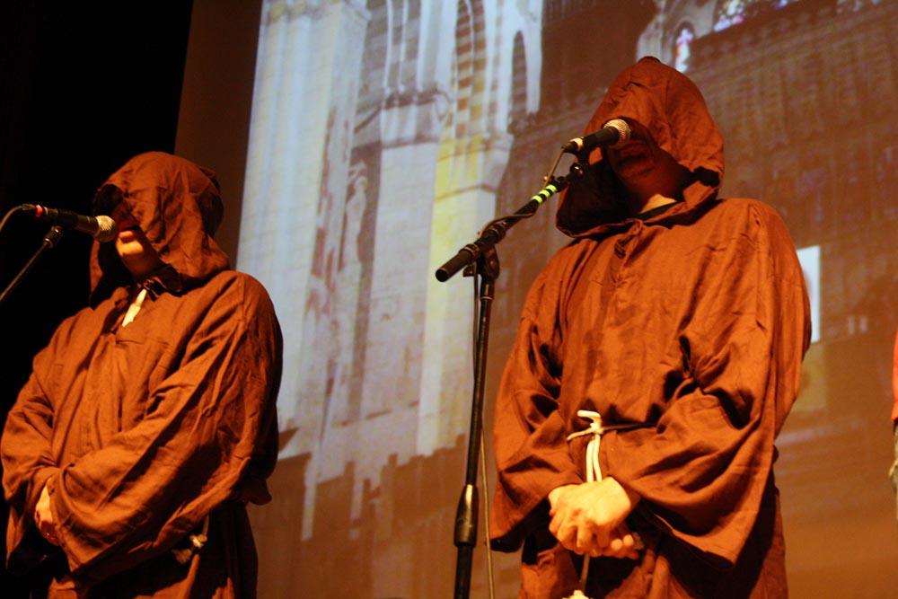 Paul and Storm, the XBox Live Enforcement monks