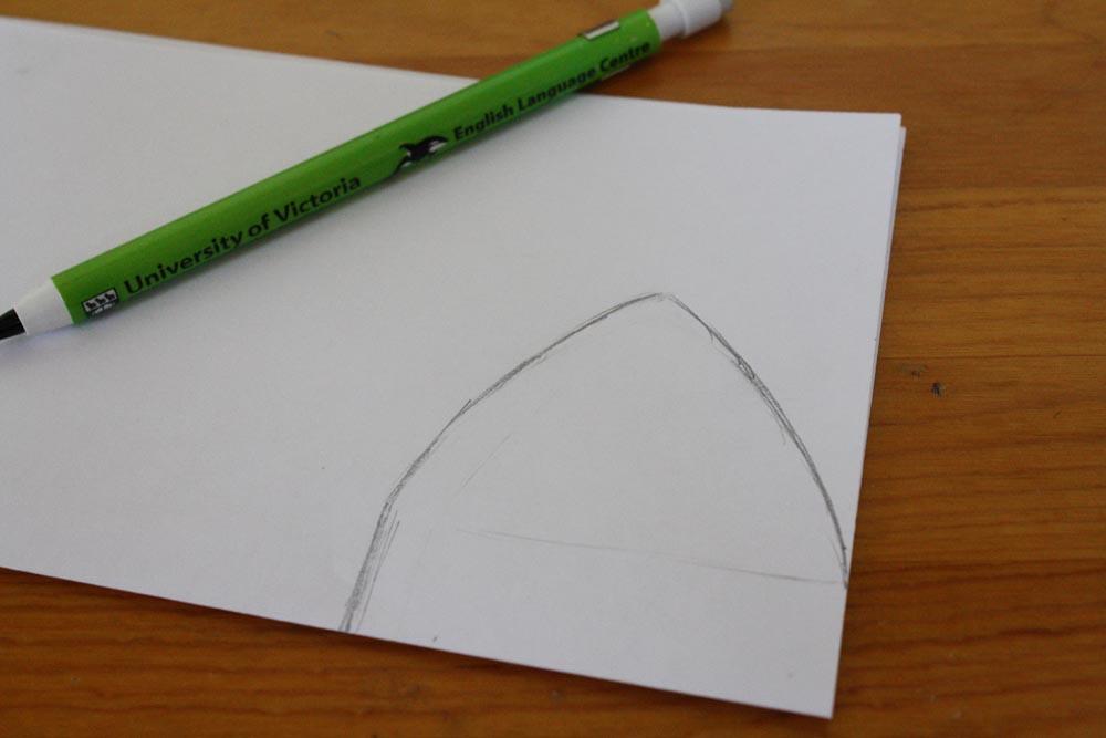 Как из бумаги сделать кошачьи ушки на