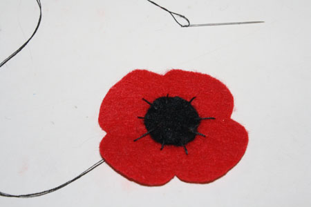 Felt Poppies For Remembrance Day Tallys Treasury