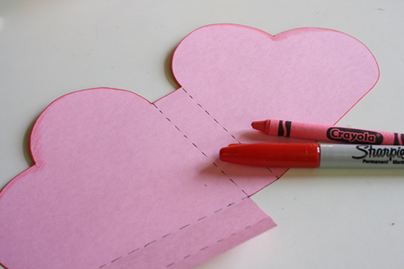 Open Ended Paper Heart Box