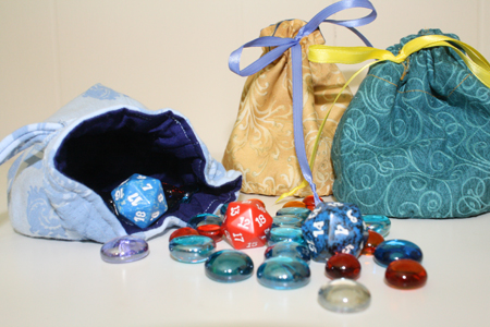 lined dice bags – for all your polyhedral needs | Tally\'s Treasury