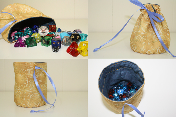 image relating to Dice Bag Printable Pattern identify protected cube baggage for all your polyhedral desires Tallys