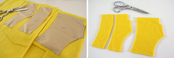 fingerless fleece monster gloves | Tally\'s Treasury