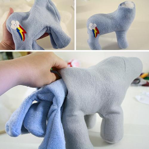 pony stuffing