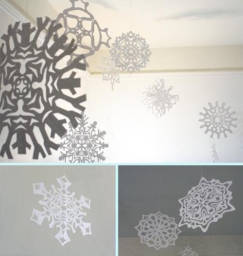 paper snowflakes intro