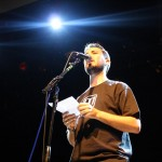 Wil Wheaton opens the show