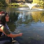 fountain fishing
