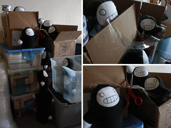 packing Creepy Dolls