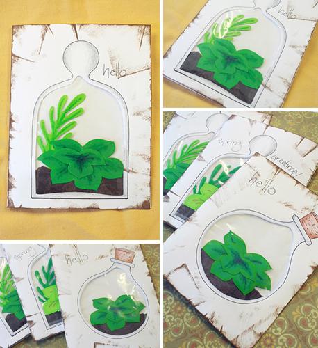 succulent cards